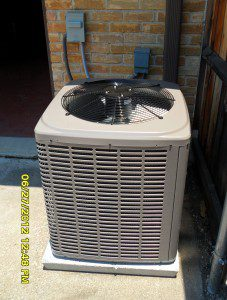 Our installation of a Coleman AC Condenser
