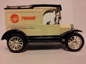 Trane Air Conditioning and Heating Equipment Truck - 100 Years