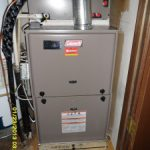 Coleman Gas Furnace installed by Arctic Comfort Air Conditioning and Heating