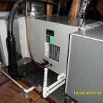 Trane Evaporator Coil installation by Arctic Comfort Garland, TX