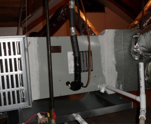 Trane Evaporator Coil installed by Arctic Comfort Air