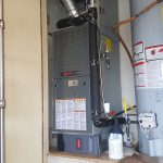 Trane Gas Furnace and Honeywell Media Air Filtering System installed by Arctic Comfort