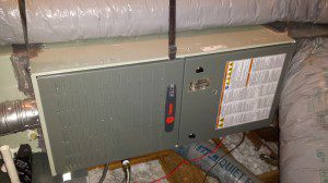 Trane Gas Furnace installed by Arctic Comfort