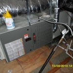 Trane Gas Furnace installed by Arctic Comfort Air Conditioning and Heating