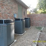 Trane XLi Condensing Units The Triplets installaed by Arctic Comfort Garland, TX