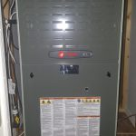 Trane XT80 Gas Furnace and Honeywell Air Filtering System installed by Arctic Comfort Garland, TX