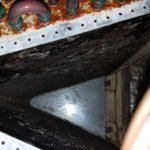 Clogged Air Conditioner Evaporator Coil